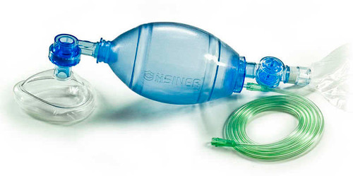 Oxygen and Manual Resuscitator