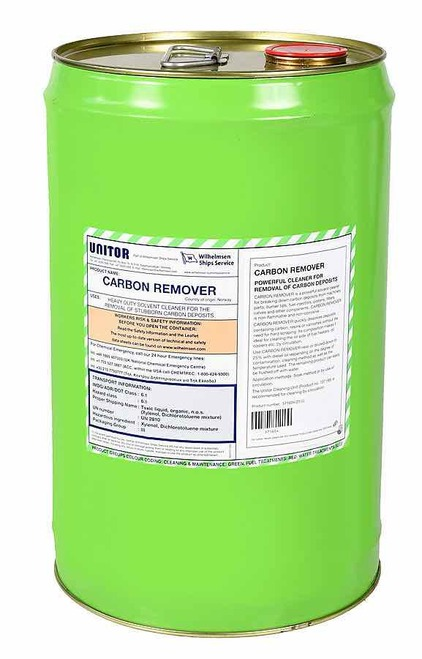 Unitor Carbon remover 25 liters can