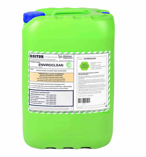 UNITOR ENVIROCLEAN 25 LITERS CAN