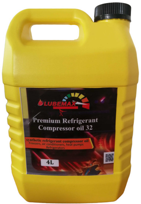 LubeMax X Premium Refrigerant Compressor Oil 4 Liters