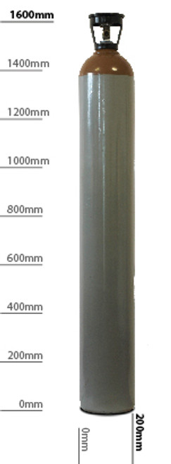 Helium gas 50liters cylinders for Labs and Balloons