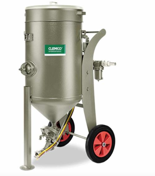 Clemco Sandblasting Pot system 8 SCWB 1638- 60 liters