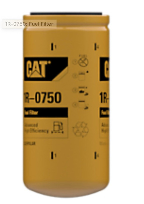 CAT FUEL FILTER 1R-0750, CAT SPARE PARTS 2