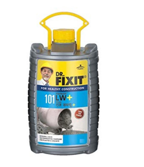 Dr. Fixit pidiproof LW + Waterproofing chemical plasticizer 1liter