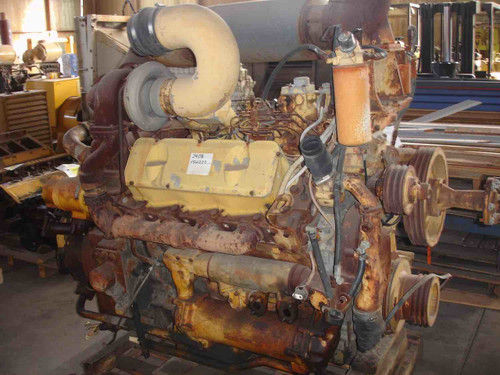 CAT 3408 Engine, Used caterpillar Marine Engine