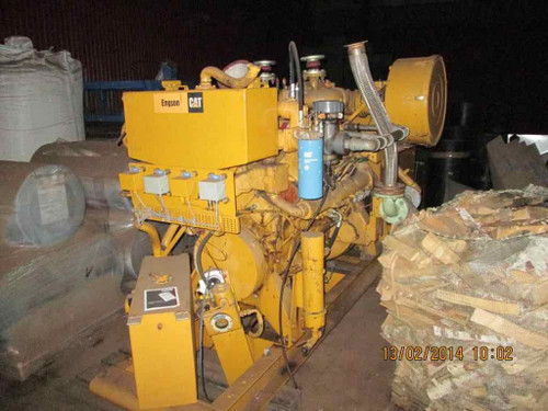 CATERPILLAR G3408 Used Marine Engine