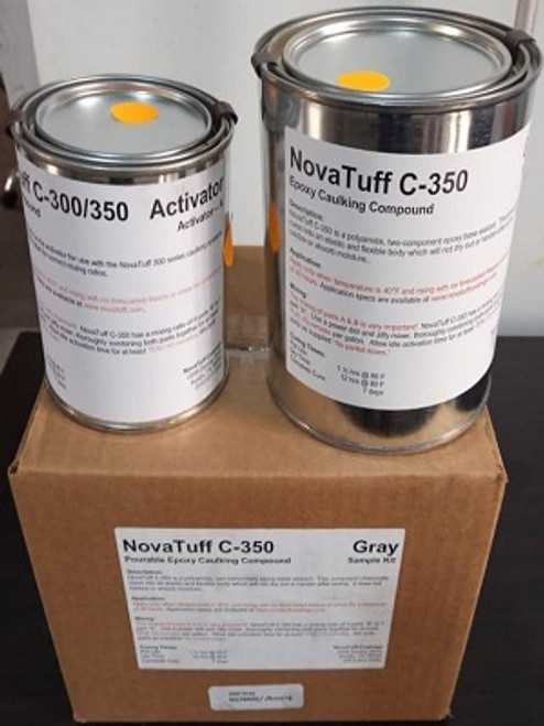 NovaTuff C-350 Pourable Epoxy Caulking Compound