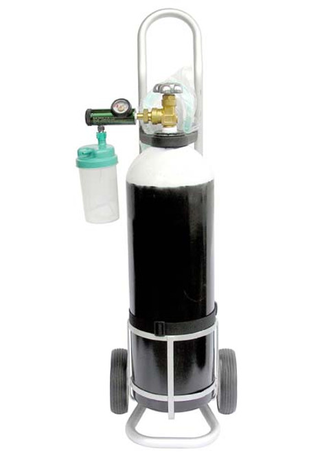 Medical Oxygen Cylinder With Trolley