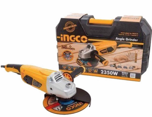 Angle grinder 230mm 9 inches INGCO 23508-1 with Carry-on box