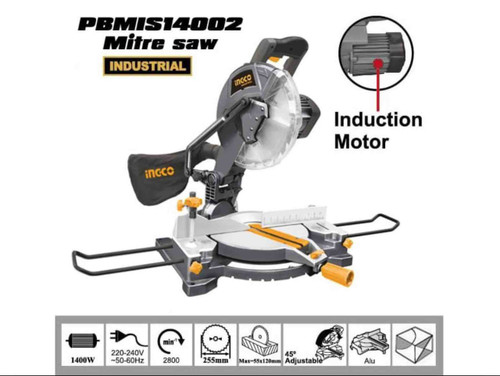 Mitre Saw 9 inches with induction motor INGCO PBMIS 14002