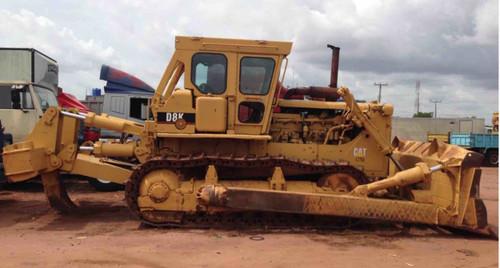 Bulldozer With Ripper Caterpillar CAT D8K used