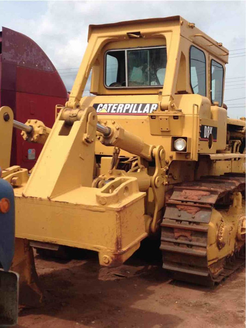 Bulldozer With Ripper Caterpillar CAT D8K used 2