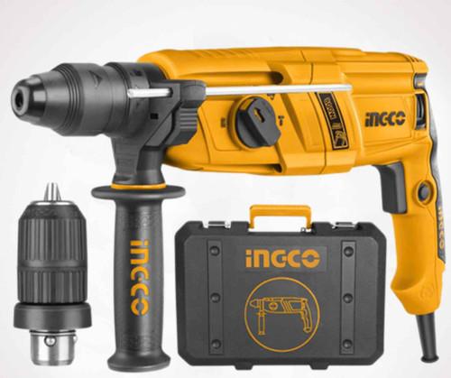 Rotary Hammer heavy duty Drill Machine 800W Ingco RGH9018
