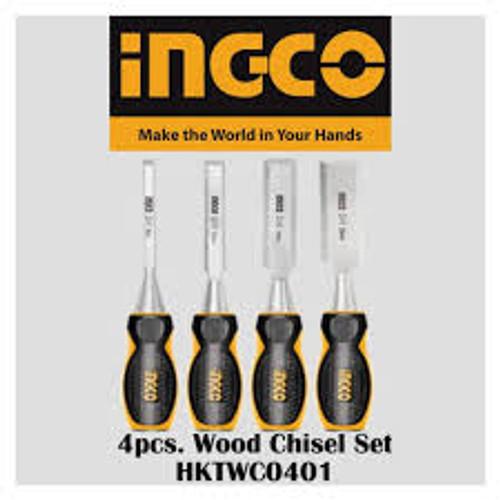 4PCS Wood Chisel - INGCO HKTWC0401