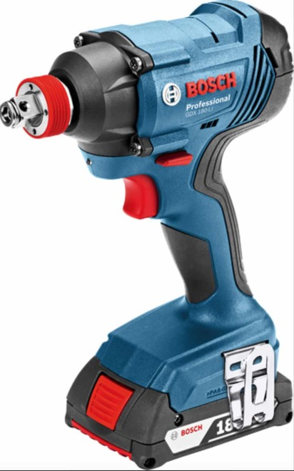 Cordless Impact Wrench and Driver (2in1) GDX 180-LI Bosch