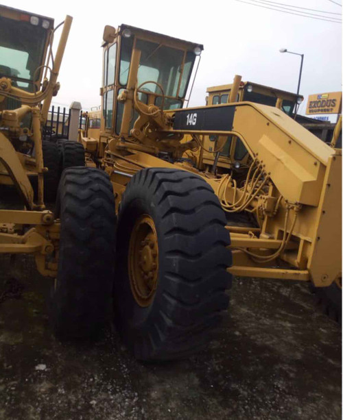 Caterpillar Motor Grader 140H Used Heavy Equipment imported clean