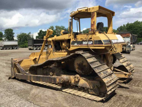 Caterpillar Bulldozer CATERPILLAR D6H LGP Fairly used Imported side