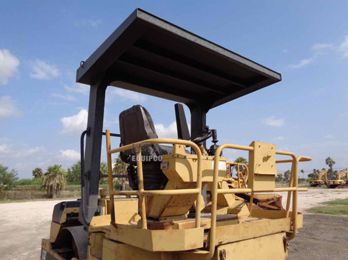 Vibratory Double drum Roller  CATERPILLAR CB 534 D 1994 model for sale open cabin