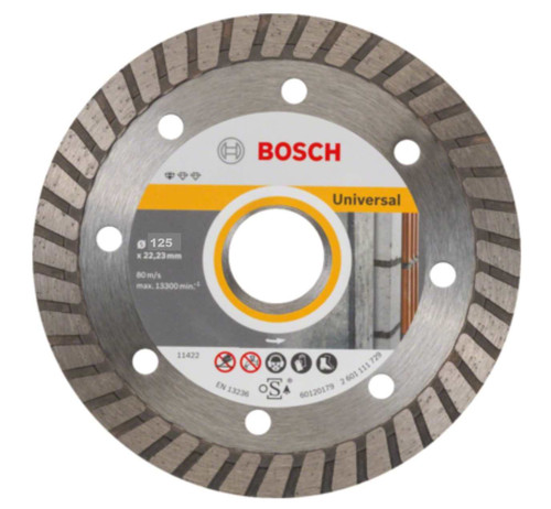 Bosch Professional Diamond Disc Cup Wheel, Standard for Universal Turbo, 125 x 22,23 x 5 mm
