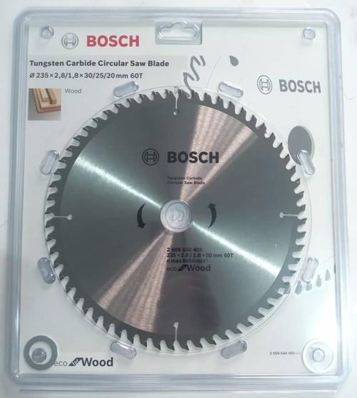 Bosch Tungsten Carbide Circular Saw Blade ECO line Wood B 235x2.8x30, 60T