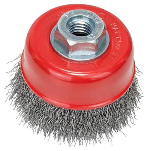 Bosch Metal Grinding Wire Cup Brush 75 mm, 0,5 mm, M14 (crimped)