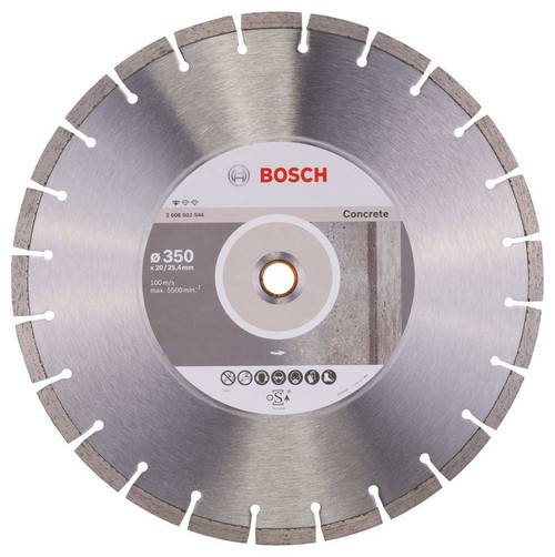 Bosch Professional Diamond Cutting Disc for Concrete 350 mm