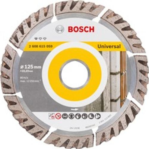 Bosch Professional Diamond Cutting Blade Universal 125mm