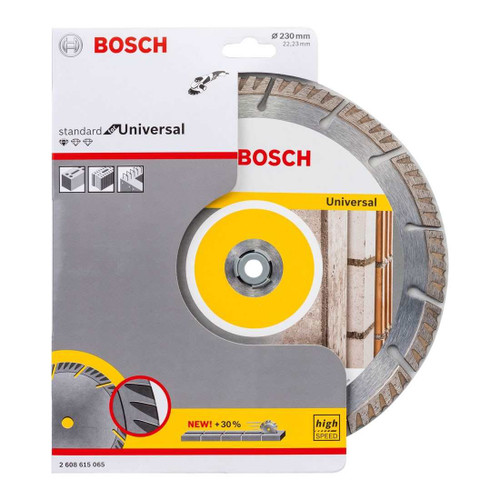 Bosch Diamond Cutting Blade Standard for Universal 230mm