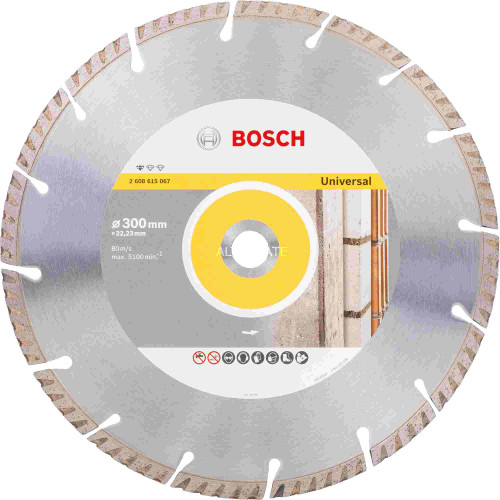 Bosch Diamond Cutting Blade Standard for Universal 300mm