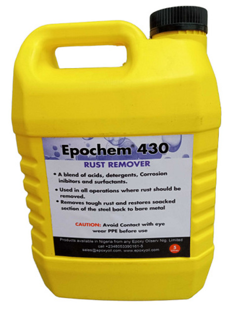 Epochem 430 Rust Remover 5 Liters