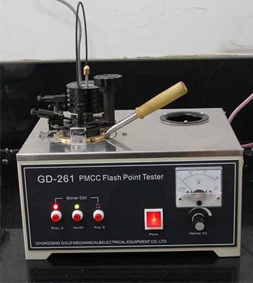 GD-261 PMCC Flash Point Tester