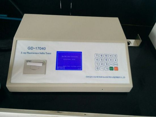 GD-17040 X-Ray Fluorescence Sulfur-In-Oil Analyzer