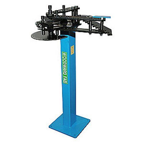 """Manual Pipe and Tubing Bender Capable of Bending 3/4"""", 2"""" O.D. Tube with Appropriate Dies.Use to Make Up to 120 Degrees Bends In Round and Square Tubing for Gates, Fences, Roll Cages, Frames, Chassis, Architectual Designs"""