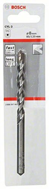 Bosch CYL-3, Concrete drill bit  8 x 80 x 120 mm