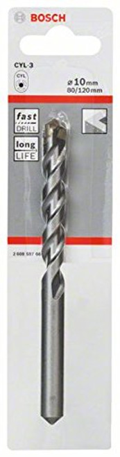 Bosch CYL-3, Concrete drill bit  10 x 80 x 120 mm