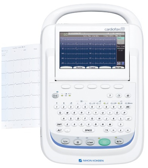 Nihon Kohden Electrocardiograph 2350 12 tracks+ PC Software