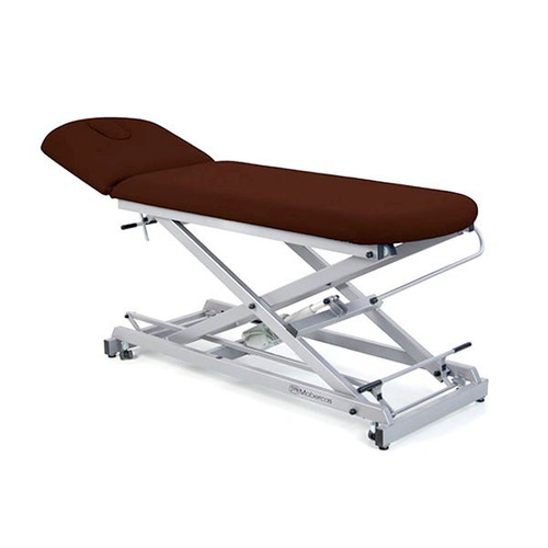 2 BODY ECONOMIC ELECTRIC STRETCHER, SCISSORS, FOLDING BACKREST AND WHEELS 62