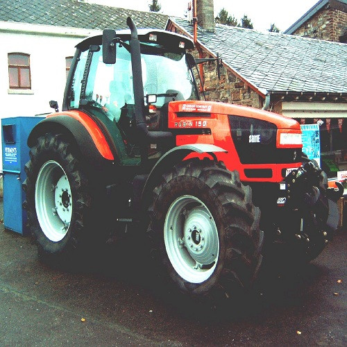 Same Four wheel drive Tractor Laser 130-4WD