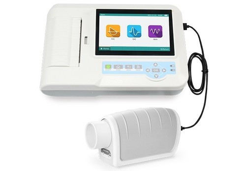 Portable Spirometer With Printer, sp 100