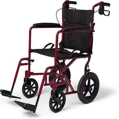 Medline Lightweight Transport Wheelchair