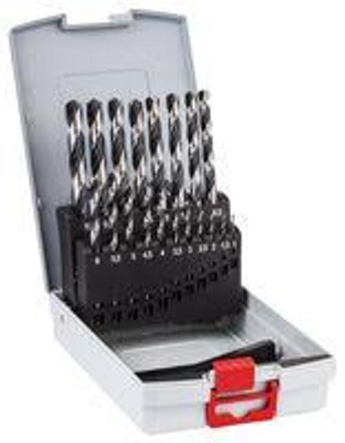 Bosch ProBox metal drill bit set HSS PointTeQ