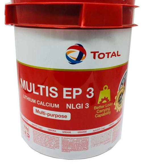 Total Multis EP 3 Grease 18 Kg