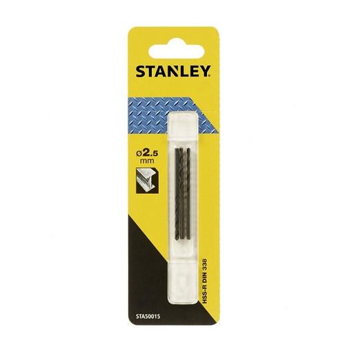 Stanley Metal Drill Bit 2.5mm -STA50015-QZ