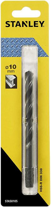 STANLEY STA50105-QZ - HSS-R metal drill bit ø 10mm