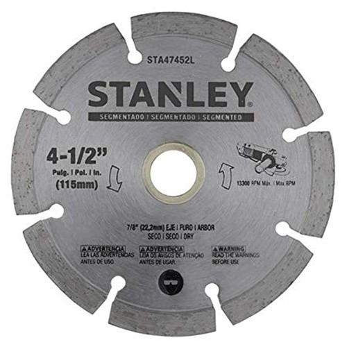 STANLEY 115MM SEGM D/CUT 0.08x7MM