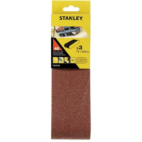 STANLEY S/BELTS - 75 x 533 40g 3PC