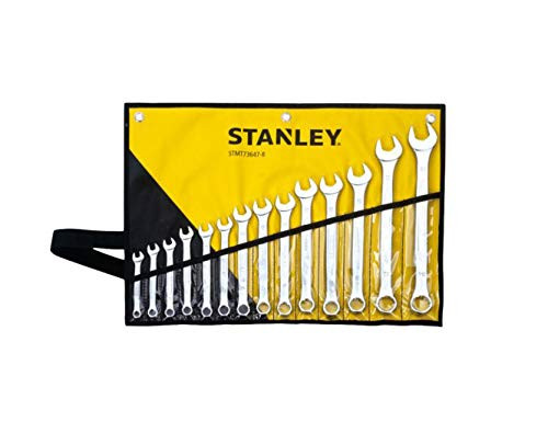 STANLEY COMBINATION WRENCH SET CWF 14PC R/WLT