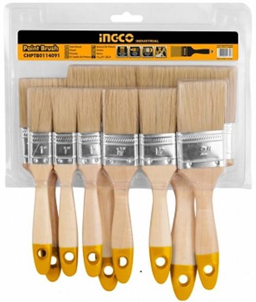 9 Pcs Paint Brush Set INGCO CHPTB0114091