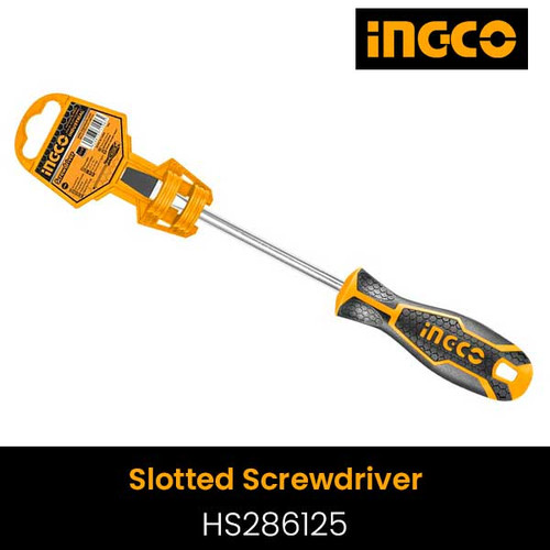 Slotted Screwdriver INGCO HS286125
