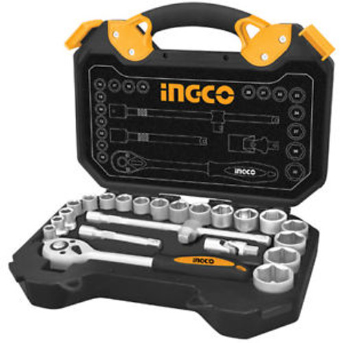 "25 Pcs 1/2"" Socket Set INGCO HKTS12251"